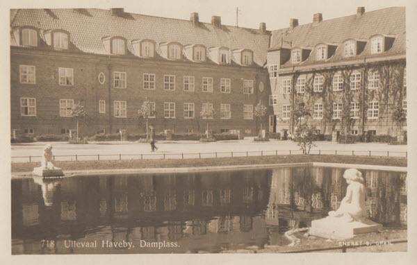 Ullevaal Haveby, Damplass.