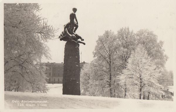 Oslo. Abelmonumentet.