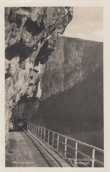 Norge. Fra Eidfjord Hardanger.