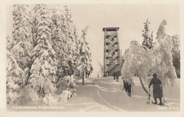 Tryvannstårnet, Frognersæteren.