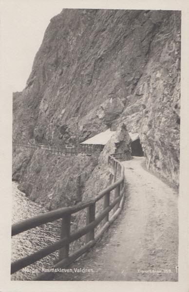 Norge. Kvamskleven, Valdres.