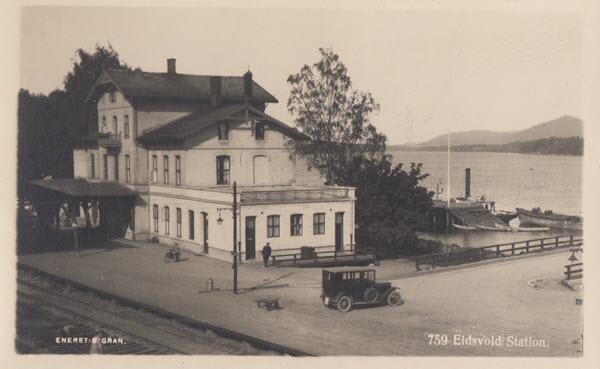 Eidsvold Station.