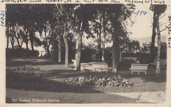 Parken Eidsvold Station