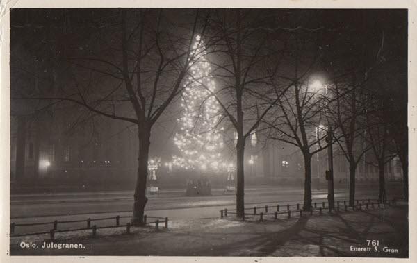 Oslo. Julegranen.
