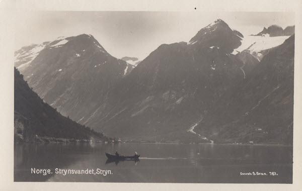 Norge. Strynsvandet, Stryn.