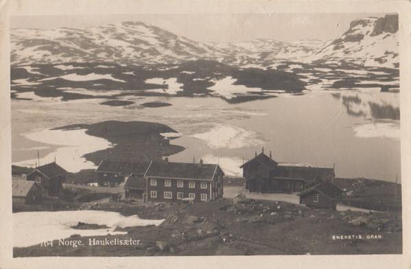 Norge. Haukelisæter.