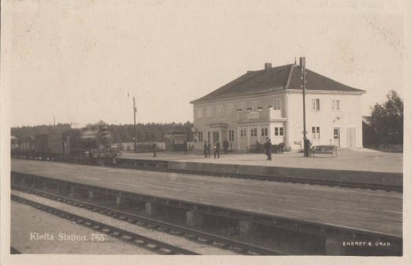 Kløfta Station.