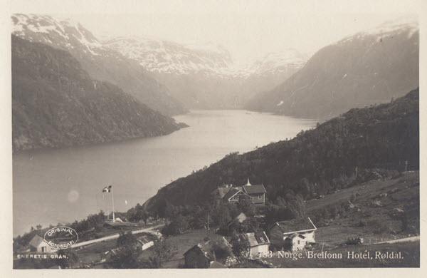 Norge. Breifonn Hotel, Røldal.