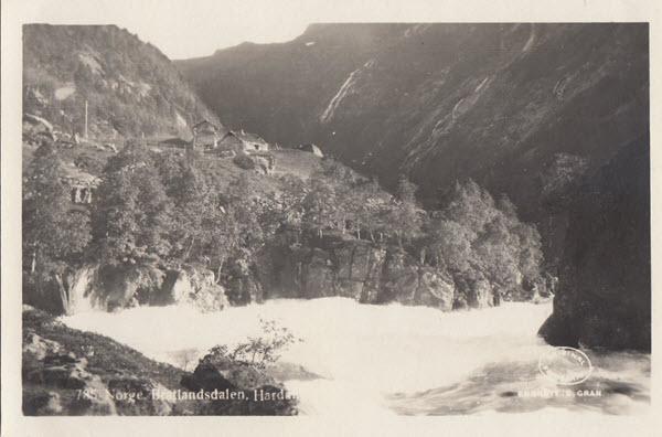 Norge. Bratlandsdalen. Hardanger