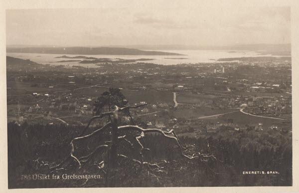Utsikt fra Grefsenaasen.