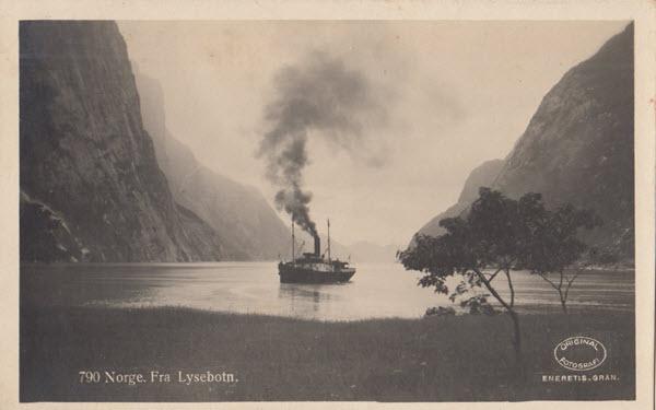 Norge. Fra Lysebotn.