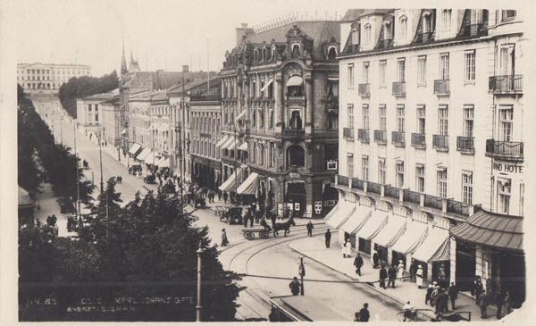 Oslo. Karl Johans gate