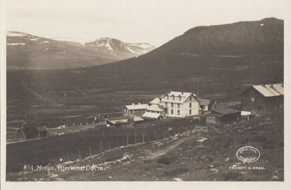Norge. Hjerkinn, Dovre