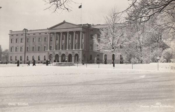Oslo. Slottet.