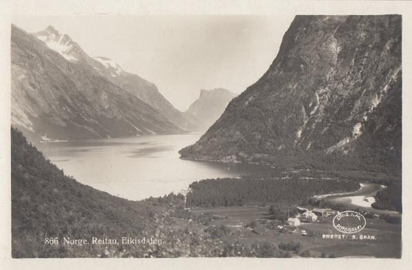 Norge. Reitan, Eikisdalen.