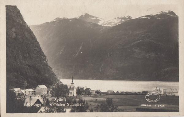 Norge. Sylte i Valdalen. Sunnmør.