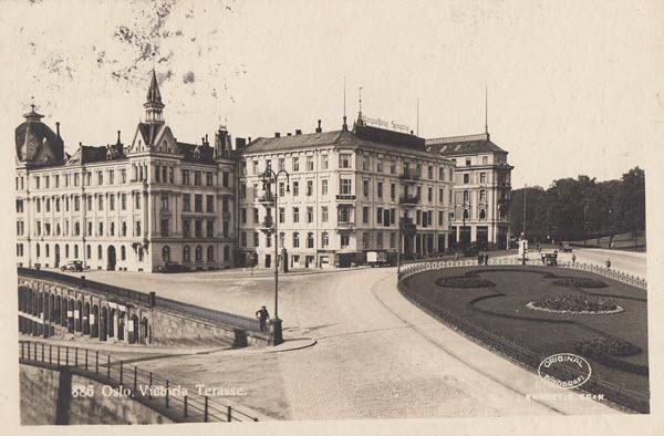 Oslo. Victoria Terasse.