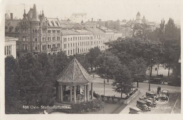 Oslo. Studenterlunden.