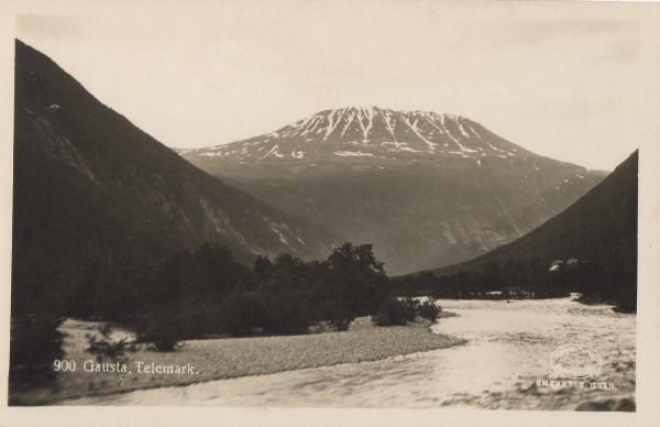 Gausta, Telemark.