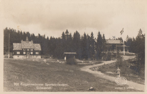 Frognersæterens Sportsrestaurant, Skimuseet.