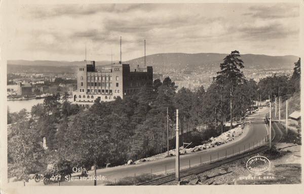 Oslo. Sjømandskole.