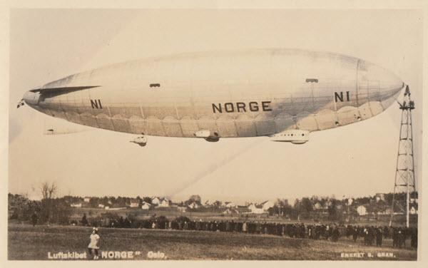 Luftskibet Norge Oslo. [1]