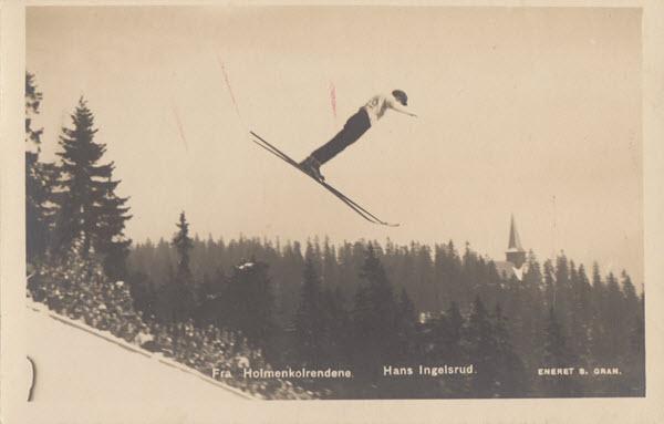 Fra Holmenkolrendene. Hans Ingelsrud.