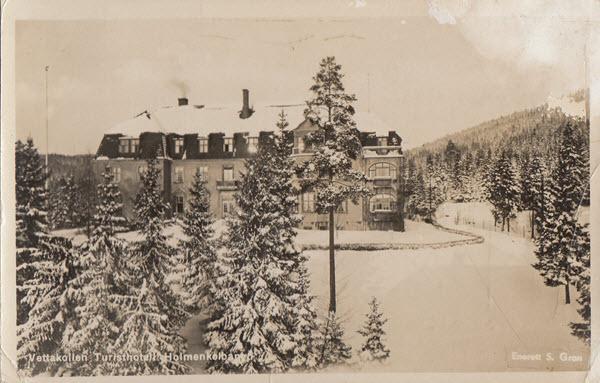 Vettakollen Turisthotell Holmenkolbanen.