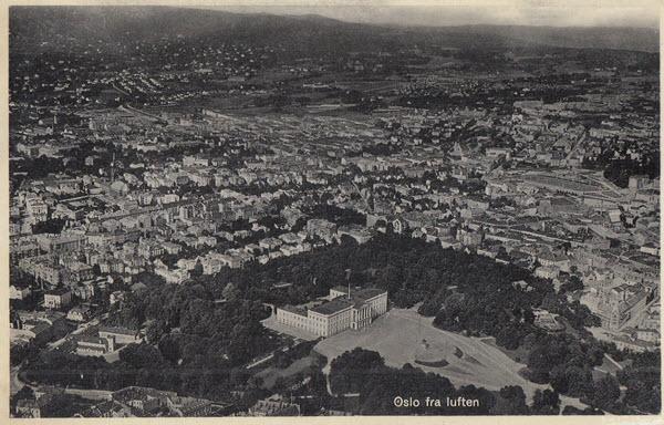 Oslo fra luften