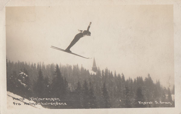 Hans Vinjarengen Fra Holmenkolbakken