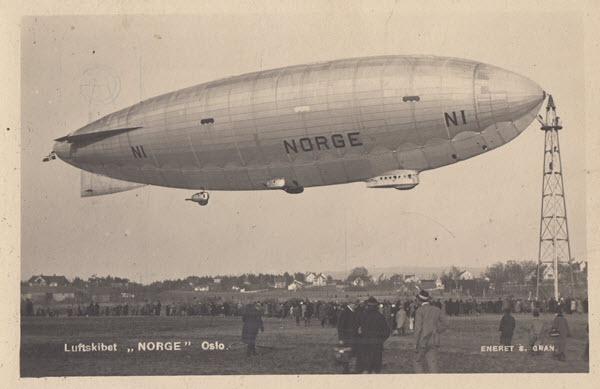 Luftskibet Norge Oslo. [3]