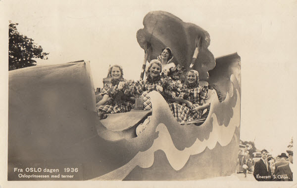 Fra Oslo dagen 1936 Osloprinsessen med terner