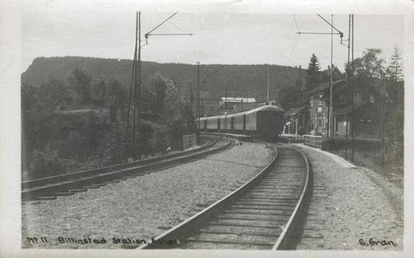Billingstad Station, Asker