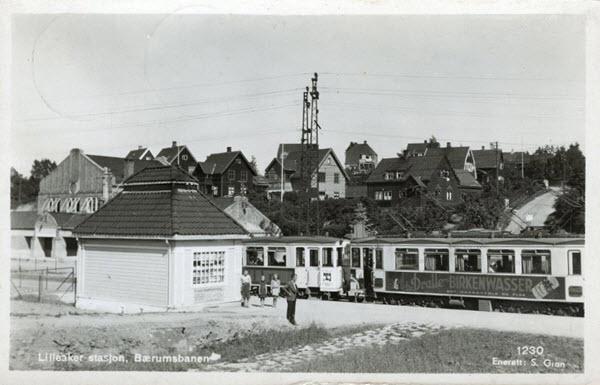 Lilleaker stasjon, Bærumsbanen.