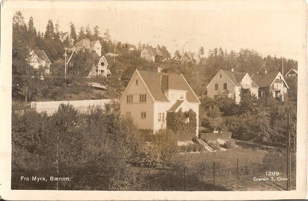 Fra Myra, Bærum.
