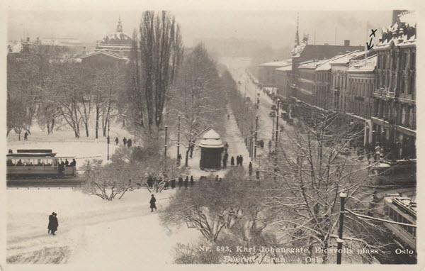 Karl Johansgate, Eidsvolls plass - Oslo