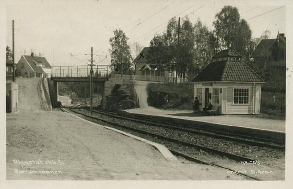 Ringstabekk St. Bærumsbanen.
