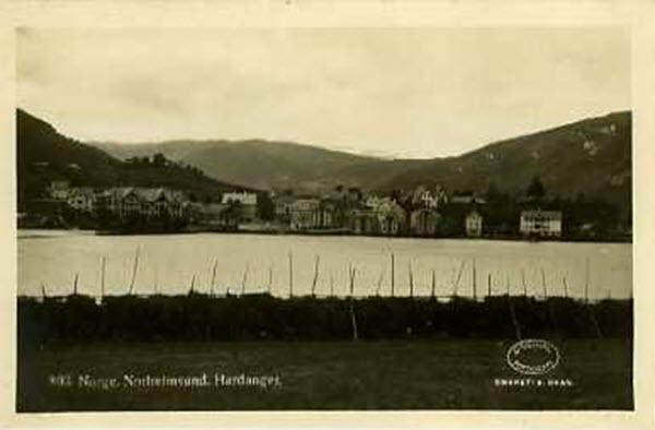 Norge. Nordheimsund, Hardanger.