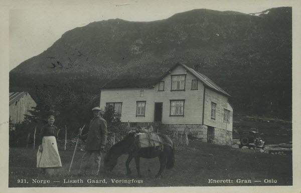Norge - Lisøth Gaard, Vøringfoss