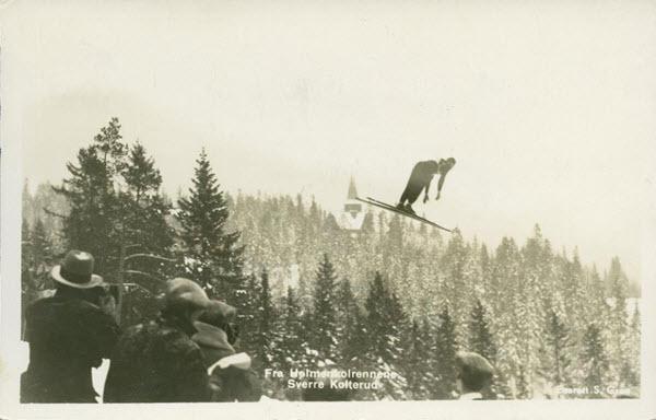 Fra Holmenkolrennene. Sverre Kolterud