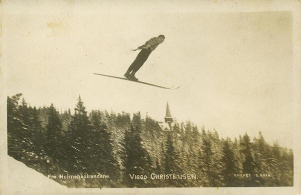 Fra Holmenkolrendene. Viggo Christensen